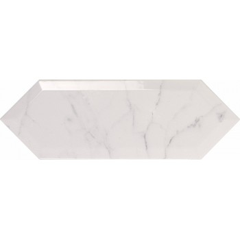 Picket Beveled Carrara 10x30