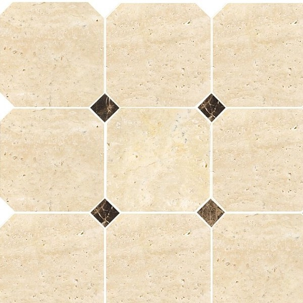 Travertine Octagon 100 (plaster 30,5x30,5)