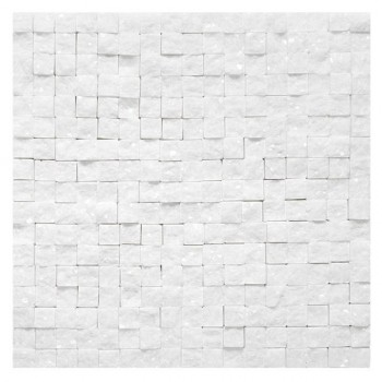Crystal WHITE Rock 18 (plaster 30,5x30,5)