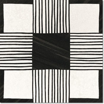 Deco Cloth B&W 20x20