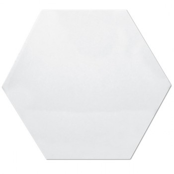 Hexagono Blanco Brillo 17x15