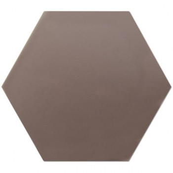 Hexagono Chocolate Mate 17x15