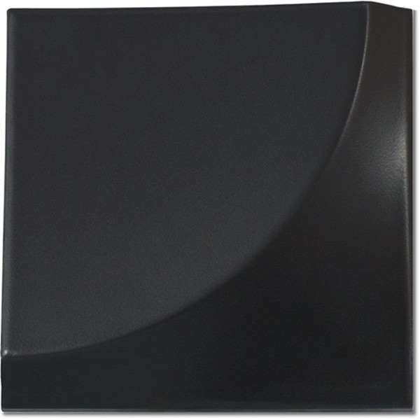 Magical 3 Curve Black Matt 15x15