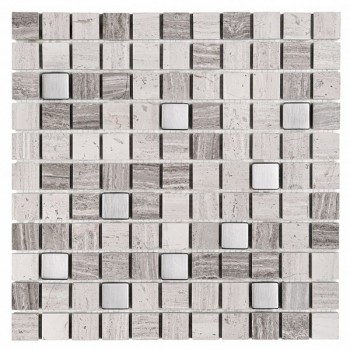 Woodstone GREY 25 (plaster 30,5x30,5)