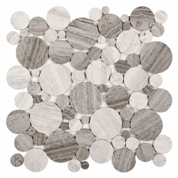 Woodstone GREY mix 25 (plaster 30,5x30,5)