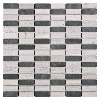 Woodstone GREY block mix 48 (plaster 30,5x30,5)