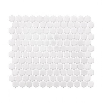 Mini HEXAGON White 30x26 cm