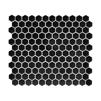 Mini HEXAGON Black 30x26 cm