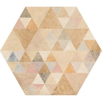 Hexagono Benenden Multicolor 23x26,6