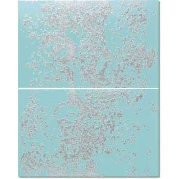 Decor Set(2) Falls Turquoise 25x40