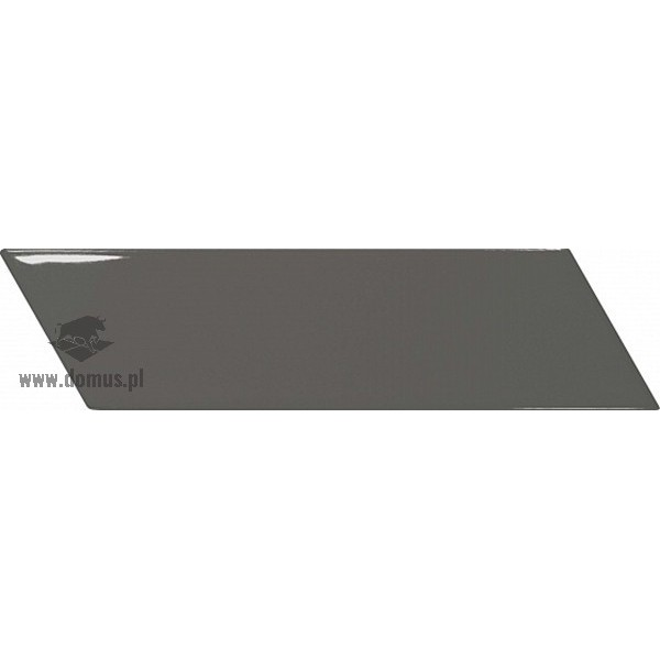 Chevron Wall Dark Grey Right 18,6x5,2