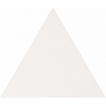 Scale Triangolo White Matt 10,8x12,4