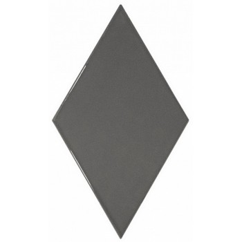 Rhombus Wall Dark Grey 15,2x26,3