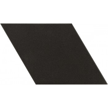 Rhombus Black Smooth 14x24