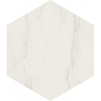 Hexagon Verona White 13,9x16