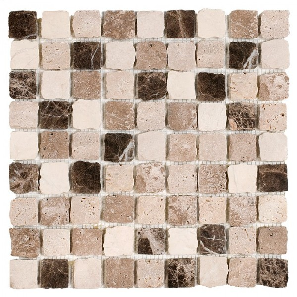 Travertine BEND mix 32 mat (plaster 30,5x30,5)