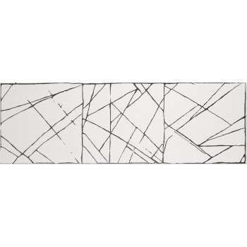 Decor Click Art II White 40x120