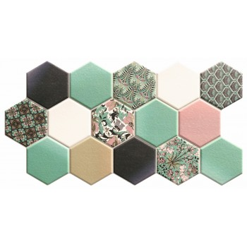 Hex Noveau Green 26,5x51
