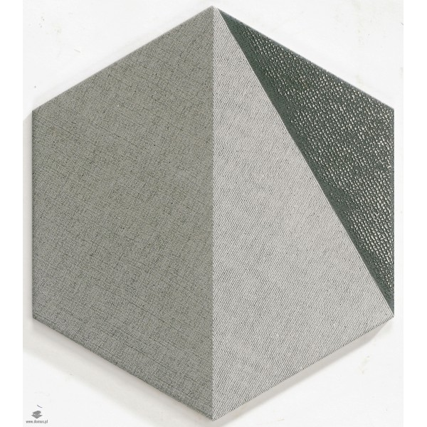 Hextangram Fabric Grey 28,5x33