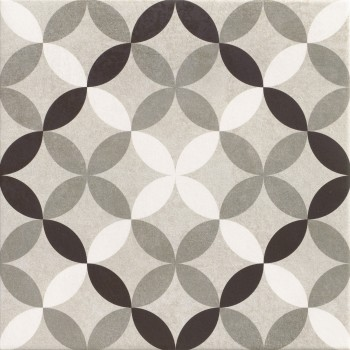 Hanoi Circle Grey 33x33