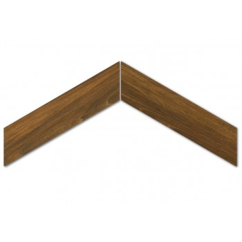 Sleek Wood Mohogany Chevron Nat. 11x54